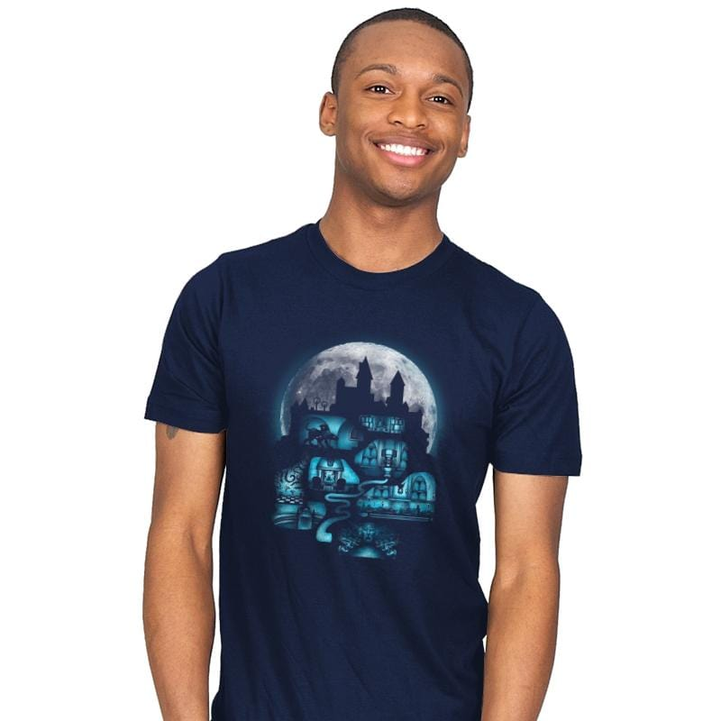 Magical Castle - Mens - T-Shirts - RIPT Apparel