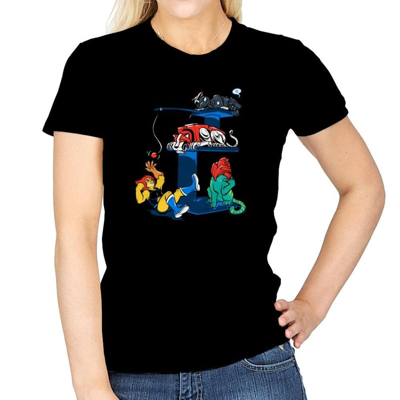 Nineteen Eighty Fur Exclusive - Womens - T-Shirts - RIPT Apparel