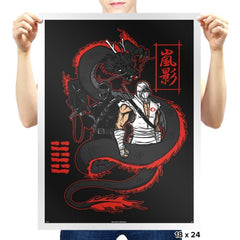 Arashikage Clan - Prints - Posters - RIPT Apparel