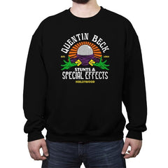 Beck Stunts & Special Effects - Crew Neck Sweatshirt - Crew Neck Sweatshirt - RIPT Apparel