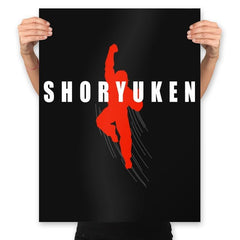 Air Shoryuken - Prints - Posters - RIPT Apparel