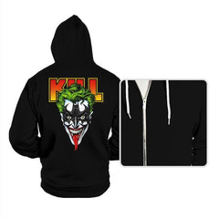 KISS THE BAT - Hoodies - Hoodies - RIPT Apparel