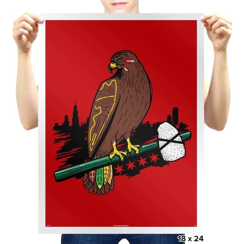 Blackhawk Dynasty Exclusive - Prints - Posters - RIPT Apparel