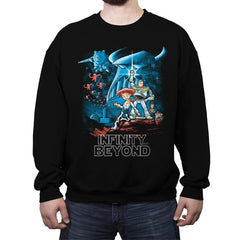 To Infinity and Beyond - Crew Neck Sweatshirt - Crew Neck Sweatshirt - RIPT Apparel