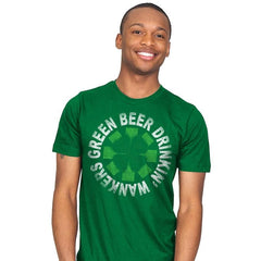 Green Beer Drinkin' Exclusive - St Paddys Day - Mens - T-Shirts - RIPT Apparel