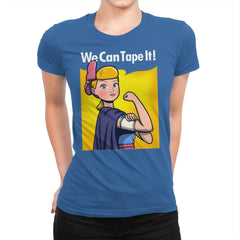 We can tape it! - Womens Premium - T-Shirts - RIPT Apparel