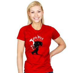 Mr. Wick vs the World - Womens - T-Shirts - RIPT Apparel