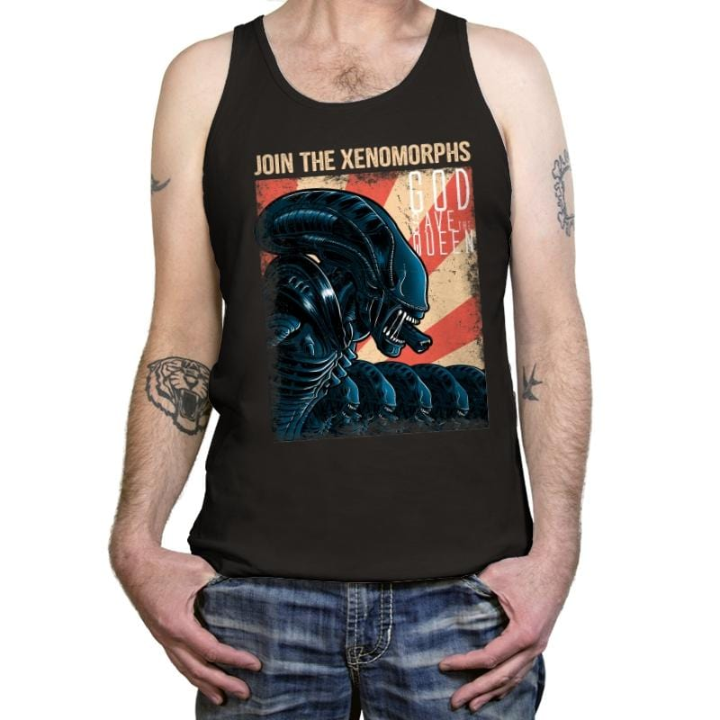 Join the Xenos - Tanktop - Tanktop - RIPT Apparel