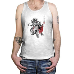 Brotherhood Sumi-E - Sumi Ink Wars - Tanktop - Tanktop - RIPT Apparel