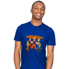 Super Saiyans - Mens - T-Shirts - RIPT Apparel
