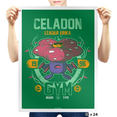 Celadon Gym - New Year's Evolutions - Prints - Posters - RIPT Apparel