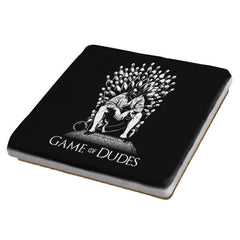 Game of Dudes - Coasters - Coasters - RIPT Apparel