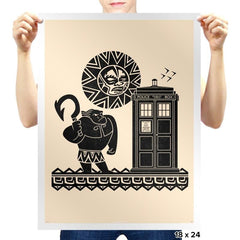 Maui Meets The Doctor Exclusive - Prints - Posters - RIPT Apparel