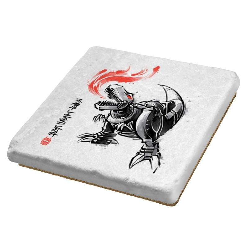 Robot Lizard King - Coasters - Coasters - RIPT Apparel