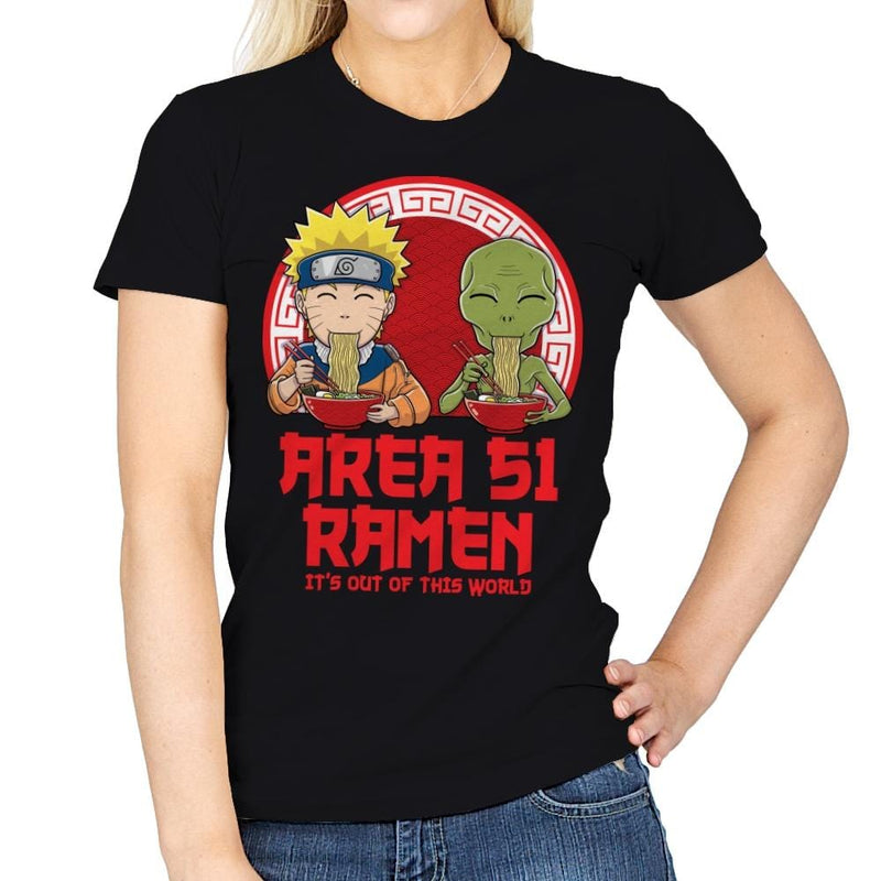 Area 51 Ramen - Womens - T-Shirts - RIPT Apparel