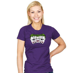 The Joke Has Many Faces Reprint - Womens - T-Shirts - RIPT Apparel