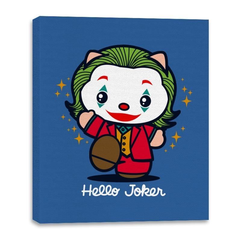 Hello Jokster - Canvas Wraps - Canvas Wraps - RIPT Apparel