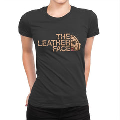 The LeatherFace - Womens Premium - T-Shirts - RIPT Apparel