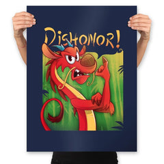 Dishonor! - Prints - Posters - RIPT Apparel