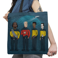 King of the Enterprise Exclusive - Tote Bag - Tote Bag - RIPT Apparel
