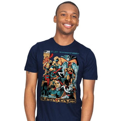 H.B. SUPER HEROES - Mens - T-Shirts - RIPT Apparel