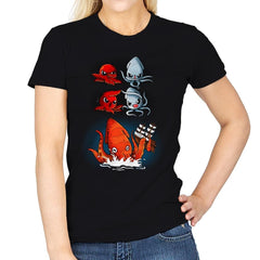 Kraken Fusion - Womens - T-Shirts - RIPT Apparel