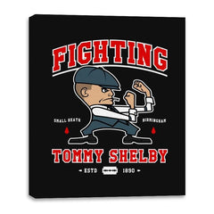 Fighting Shelby - Canvas Wraps - Canvas Wraps - RIPT Apparel
