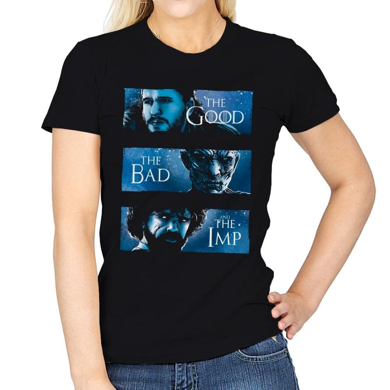 The Good, The Bad and The Imp - Womens - T-Shirts - RIPT Apparel