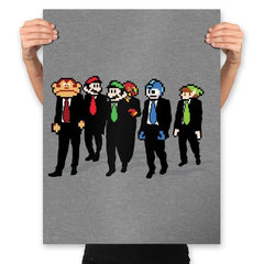 Reservoir Pixels - Prints - Posters - RIPT Apparel