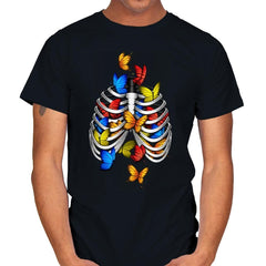 Butterflies In My Stomach - Mens - T-Shirts - RIPT Apparel