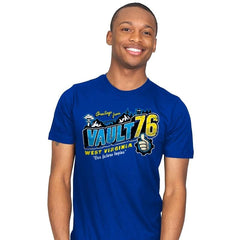 Greetings from WV Vault - Mens - T-Shirts - RIPT Apparel