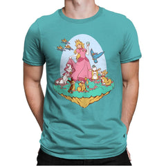 Snow Peach of Lylat - Mens Premium - T-Shirts - RIPT Apparel