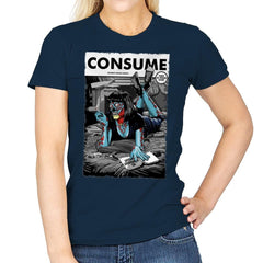 Consume Fiction - Womens - T-Shirts - RIPT Apparel