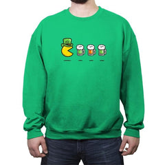 St. Pac's Day  - Crew Neck Sweatshirt - Crew Neck Sweatshirt - RIPT Apparel
