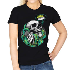 Cthul Who? - Womens - T-Shirts - RIPT Apparel