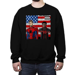 Spider-Verse - Crew Neck Sweatshirt - Crew Neck Sweatshirt - RIPT Apparel