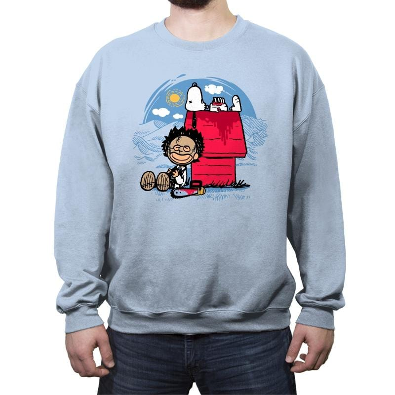 Peanut Massacre - Crew Neck Sweatshirt - Crew Neck Sweatshirt - RIPT Apparel