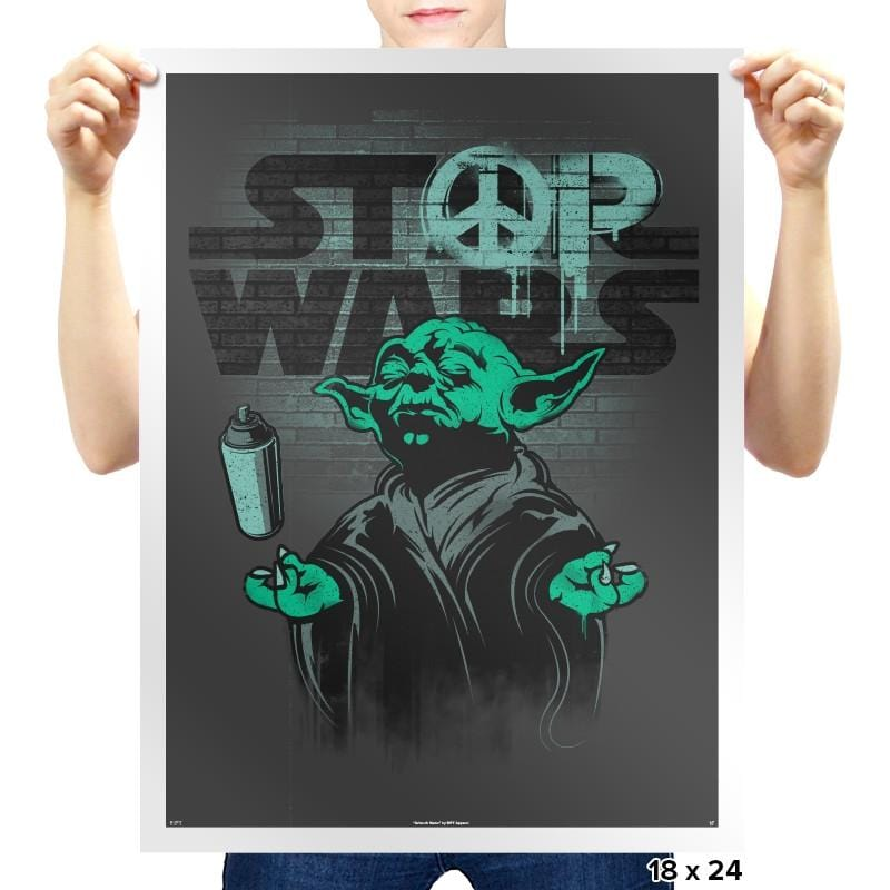 STOP WARS - Prints - Posters - RIPT Apparel
