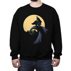 The Night Over - Crew Neck Sweatshirt - Crew Neck Sweatshirt - RIPT Apparel