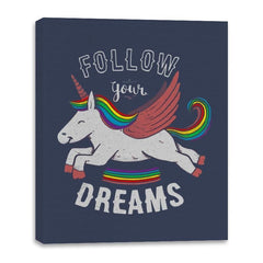 Forever Follow Your Dreams - Canvas Wraps - Canvas Wraps - RIPT Apparel