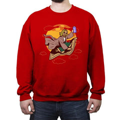 Magic Rug Ride - Crew Neck Sweatshirt - Crew Neck Sweatshirt - RIPT Apparel