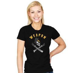 Weapon X Pirate Flag - Womens - T-Shirts - RIPT Apparel