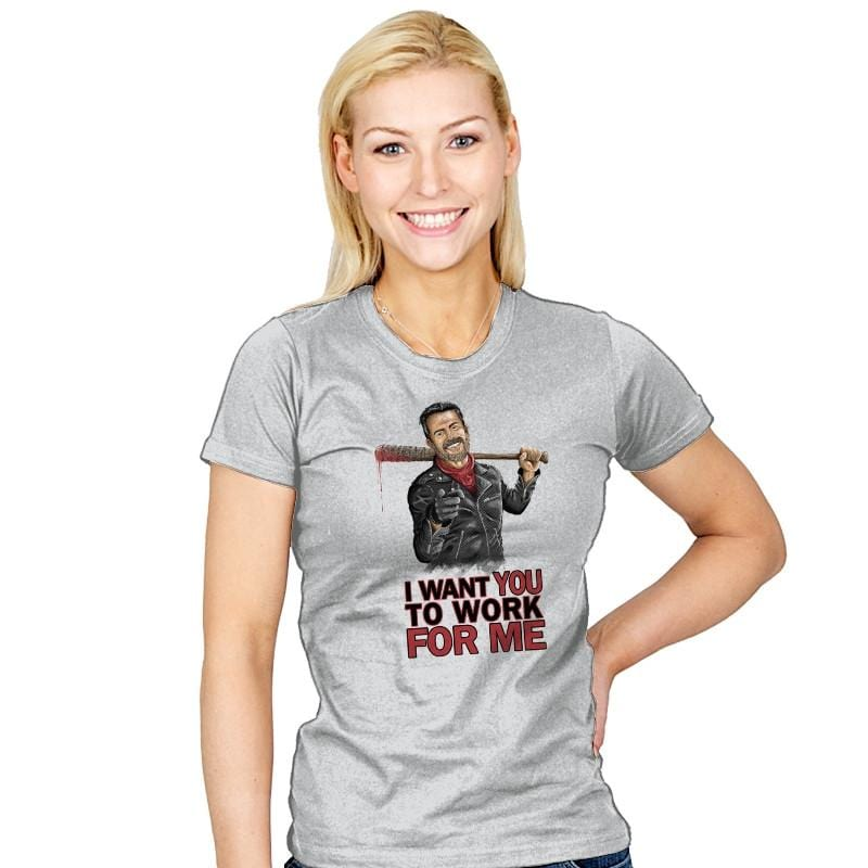 I Want YOU - Womens - T-Shirts - RIPT Apparel