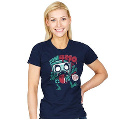 Zombmo Exclusive - Dead Pixels - Womens - T-Shirts - RIPT Apparel
