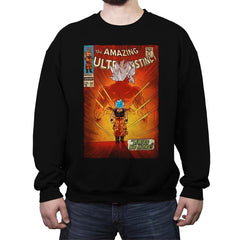 The Amazing Ultra-Instinct - Crew Neck Sweatshirt - Crew Neck Sweatshirt - RIPT Apparel