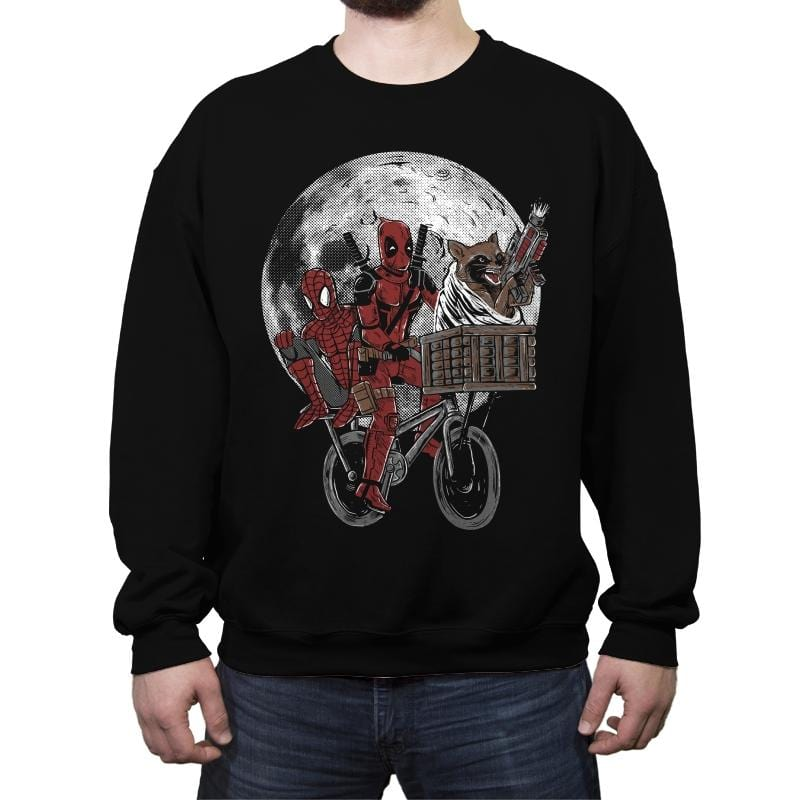 Chimichanga's Quest - Crew Neck Sweatshirt - Crew Neck Sweatshirt - RIPT Apparel