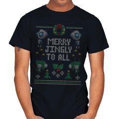 Merry Jingly - Ugly Holiday - Mens - T-Shirts - RIPT Apparel
