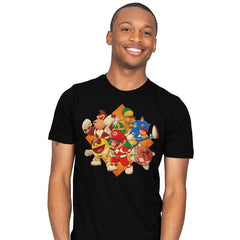 Mighty Gaming Rangers - Mens - T-Shirts - RIPT Apparel