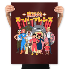 Magical Super Friends - Prints - Posters - RIPT Apparel