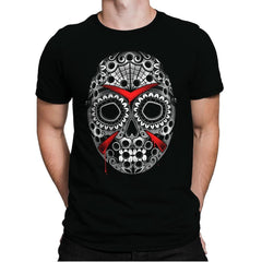 Sugar Skull Slasher - Mens Premium - T-Shirts - RIPT Apparel